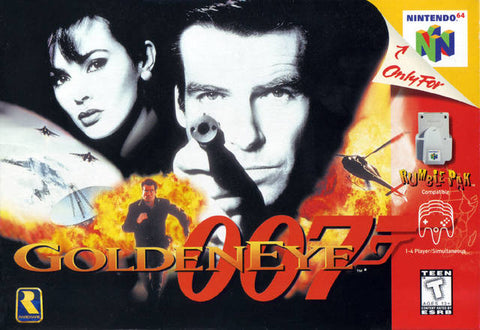 GoldenEye 007 - Nintendo 64 [USED]