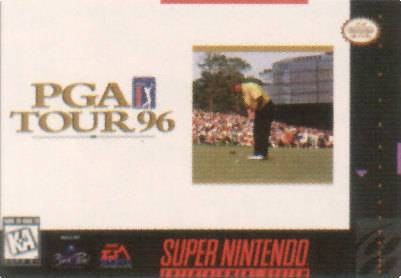 PGA Tour 96 - Super Nintendo [USED]