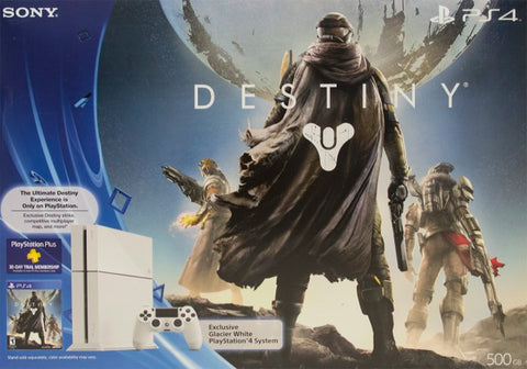 Destiny (White PlayStation 4 Bundle) - PlayStation 4