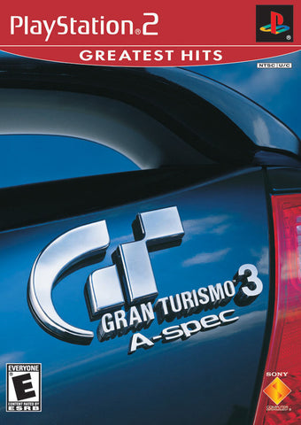 Gran Turismo 3: A-Spec (Greatest Hits) - PlayStation 2
