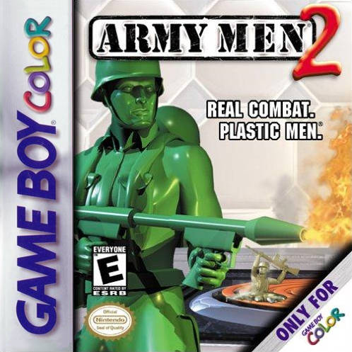 Army Men 2 - Game Boy Color [USED]