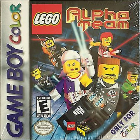 LEGO Alpha Team - Game Boy Color [USED]
