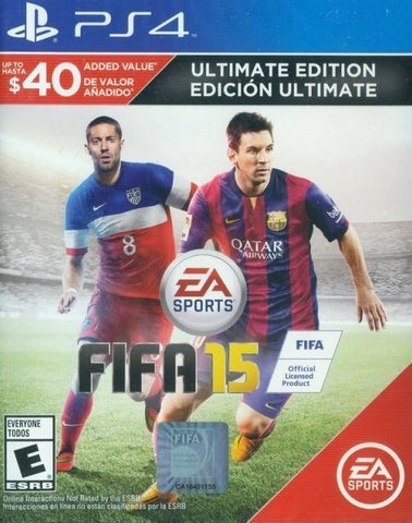 FIFA 15 (Ultimate Team Edition) - PlayStation 4
