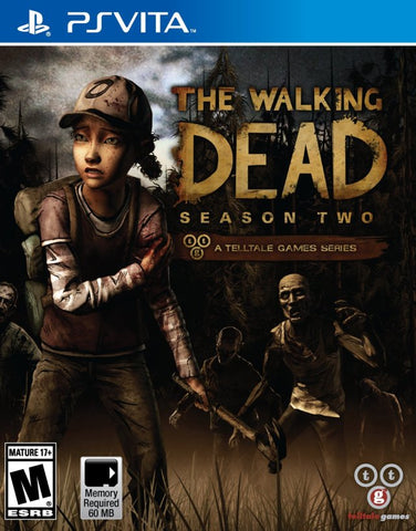 The Walking Dead: Season Two - A Telltale Games Series - PS Vita