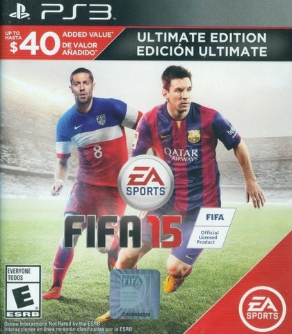 FIFA 15 (Ultimate Team Edition) - PlayStation 3