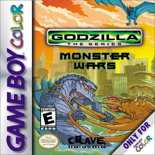 Godzilla the Series: Monster Wars - Game Boy Color