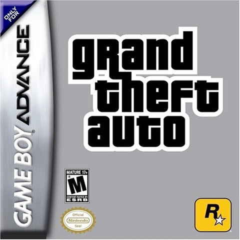 Grand Theft Auto - Game Boy Advance (Action & Adv, 2004, US )