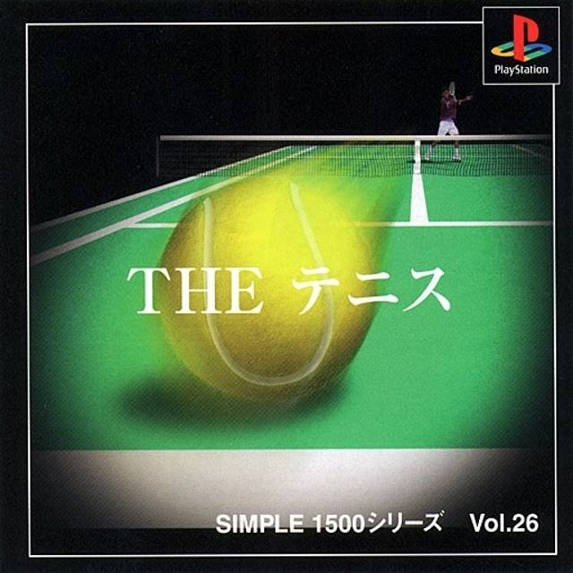 Simple 1500 Series Vol. 26: The Tennis - PlayStation (Japan)