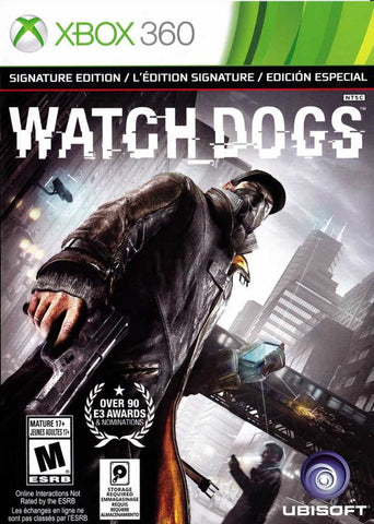 Watch Dogs (Signature Edition) - Xbox 360