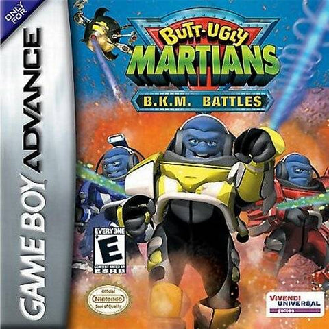 Butt Ugly Martians: B.K.M. Battles - Game Boy Advance [USED]
