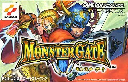Monster Gate - Game Boy Advance (RPG, 2002, JP )