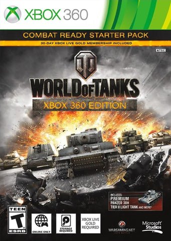 World of Tanks: Xbox 360 Edition (Combat Ready Starter Pack) - Xbox 360