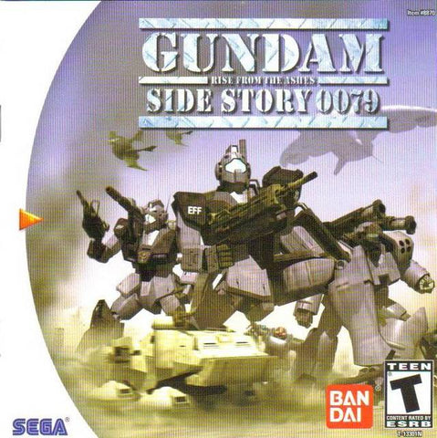 Gundam Side Story 0079: Rise from the Ashes - SEGA Dreamcast (RAC, 1999) [USED]