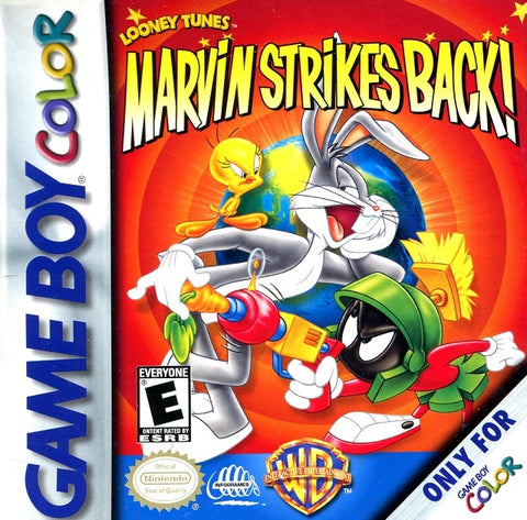 Marvin Strikes Back! - Game Boy Color [USED]