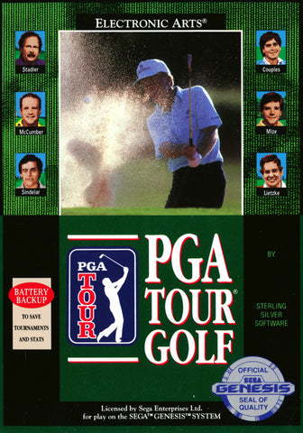 PGA Tour Golf - SEGA Genesis [USED]
