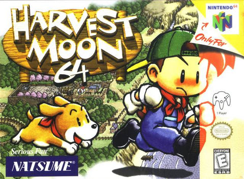 Harvest Moon 64 - Nintendo 64 [USED]
