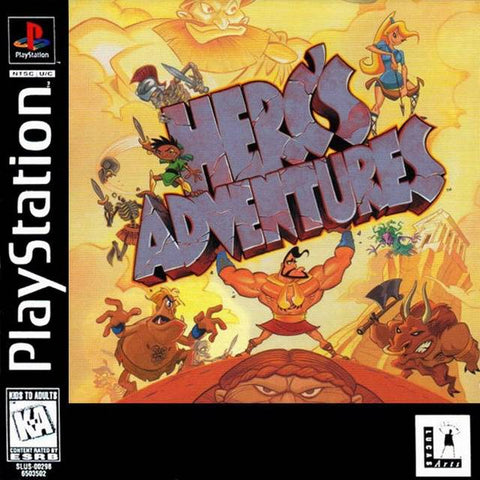 Herc's Adventures - PlayStation