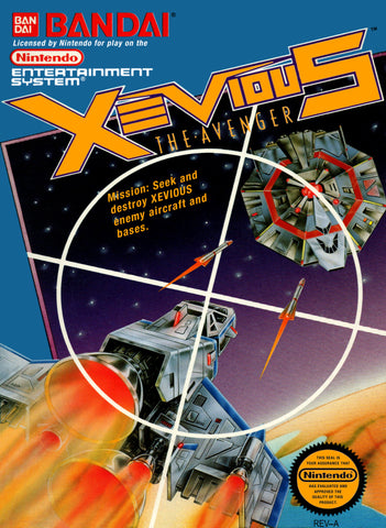 Xevious - Nintendo NES [USED]