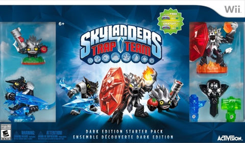 Skylanders Trap Team (Dark Edition) - Nintendo Wii [NEW]