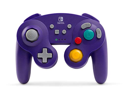 PowerA Wireless Controller for Nintendo Switch - GameCube Style Purple - Nintendo Switch