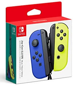 Nintendo Blue/ Neon Yellow Joy-Con (L-R) - Nintendo Switch