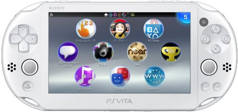 Sony PlayStation Vita 2000 Wi-Fi   ( White ) - PlayStation Vita