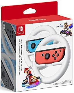 Nintendo Joy-Con Wheel (Set of 2) - White - Nintendo Switch