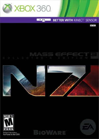 Mass Effect 3 Collector's Edition -Xbox 360 [NEW]