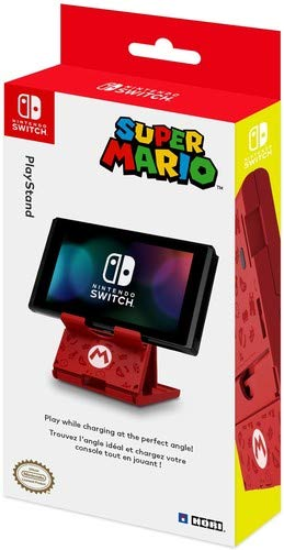 HORI Compact PlayStand - Mario Edition, Officially Licensed by Nintendo - Nintendo Switch