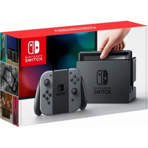 Nintendo Switch Console - Gray Joy-Con (L-R)
