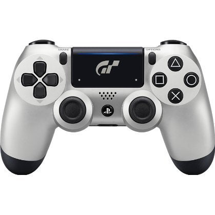 DualShock 4 Wireless Controller for PlayStation 4 - Silver GT Sport