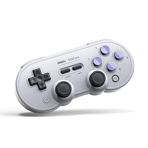 8Bitdo Sn30 Pro Bluetooth Gamepad (Sn Edition) - Nintendo Switch