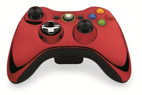 Microsoft  Xbox 360 Chrome Series Limited Edition Wireless Controller - Red- Xbox 360
