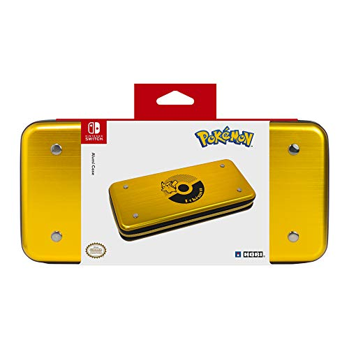 HORI Pikachu Alumi Case (Gold) - Nintendo Switch