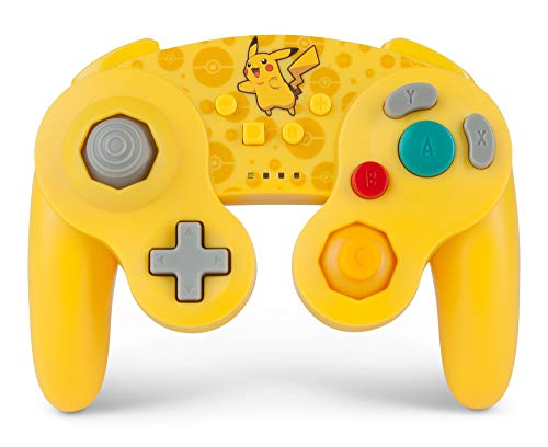 PowerA Pokemon Wireless GameCube Style Controller for Nintendo Switch - Pikachu
