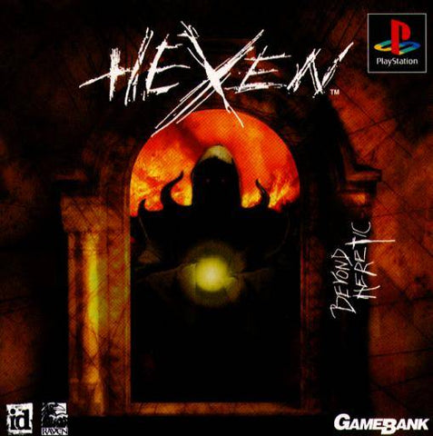 Hexen: Beyond Heretic - PlayStation (Japan)