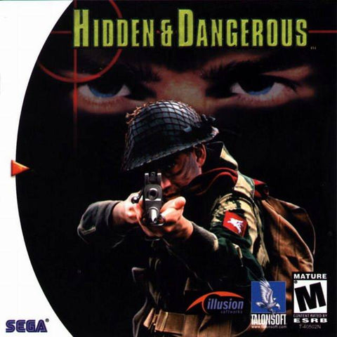 Hidden & Dangerous - SEGA Dreamcast (FPS, 2000) [USED]