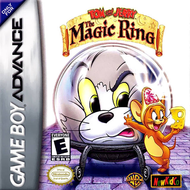 Tom and Jerry: The Magic Ring - Game Boy Advance (Beat-'Em-Up, 2002, US )