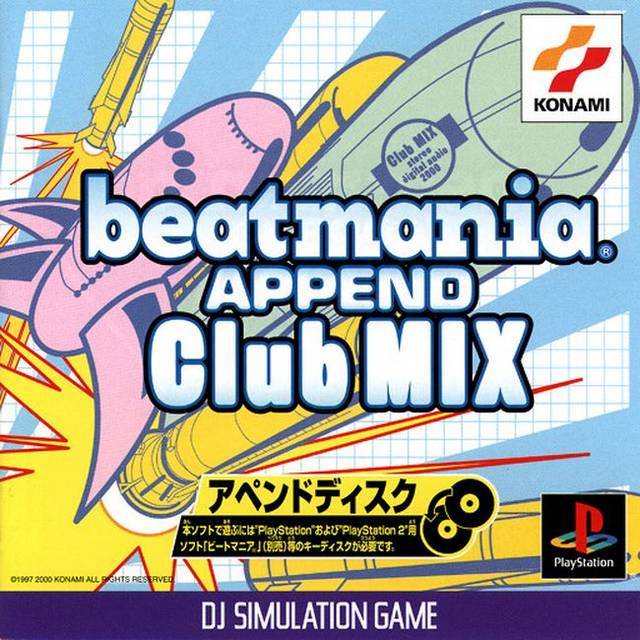 BeatMania Append Club Mix - PlayStation (Japan)