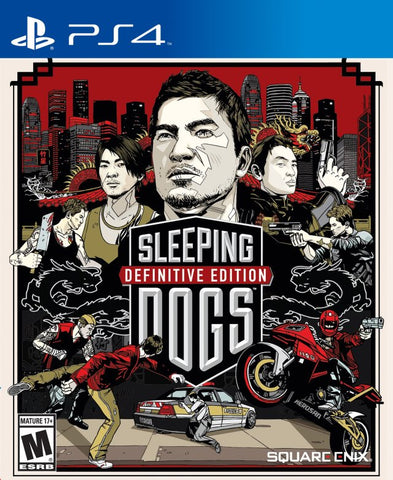Sleeping Dogs: Definitive Edition - PlayStation 4