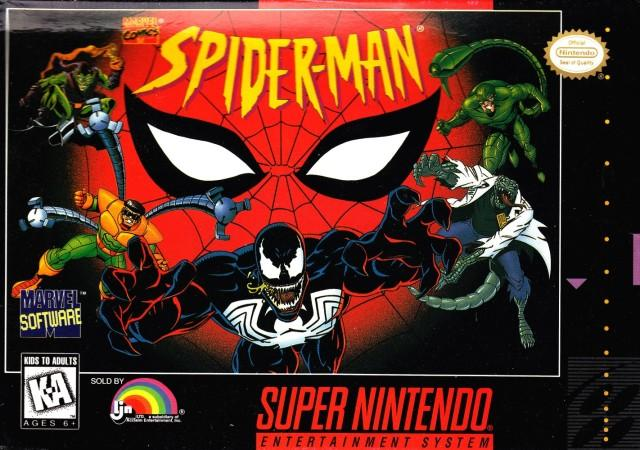 Spider-Man - Super Nintendo [USED]