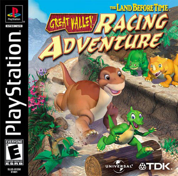 The Land Before Time: Great Valley Racing Adventure - PlayStation