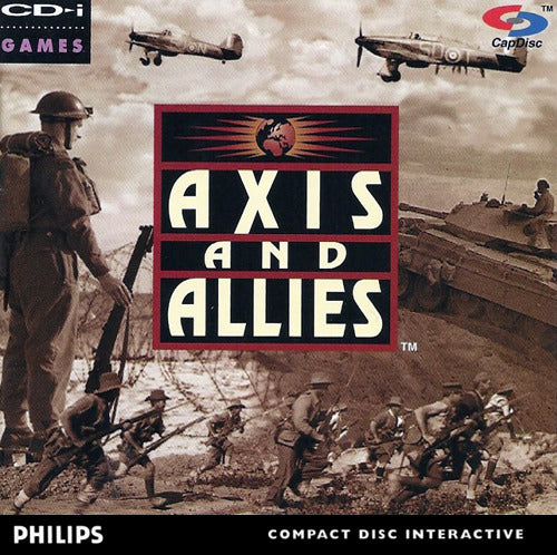 Axis and Allies - CD-I