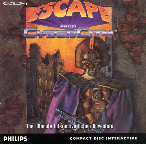 Escape from Cyber City - CD-I
