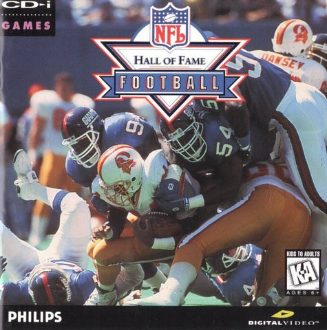 NFL Hall of Fame Football - CD-I
