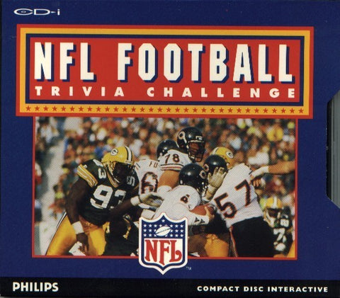 NFL Football Trivia Challenge ('94 - '95 Edition) - CD-I