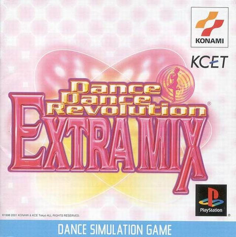 Dance Dance Revolution Extra Mix - PlayStation (Japan)
