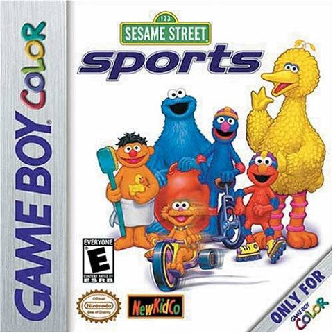 Sesame Street Sports - Game Boy Color [USED]