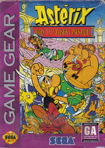 Asterix and the Great Rescue - SEGA GameGear (Platformer, 1993, US)