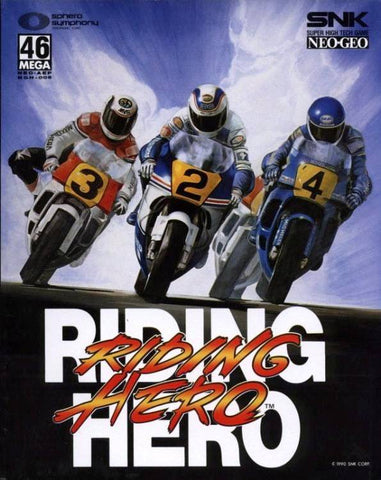 Riding Hero - NeoGeo [CIB]